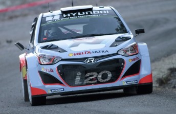 Chris Atkinson confirmed for Rally Mexico in the #8 Hyundai i20 WRC