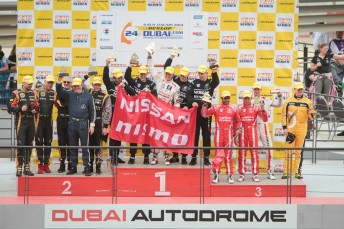 James Moffat claims class podium for Nissan in Dubai 24 Hour