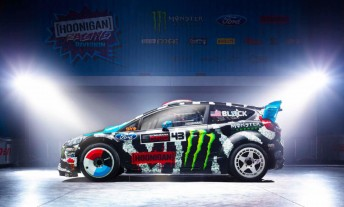 Ken Block will compete at selected rounds of the World Rallycross Championship