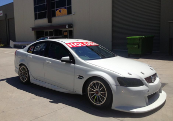The Commodore that Dumbrell will race