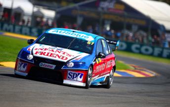 Ash Walsh scored pole for Race 2