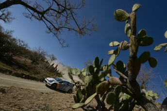 Latvala is in the groove in Mexico