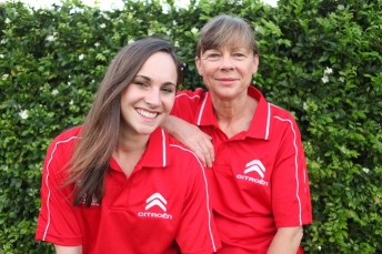 Mother and daughter Molly and Coral Taylor take on the 2014 Junior World Rally Championship together