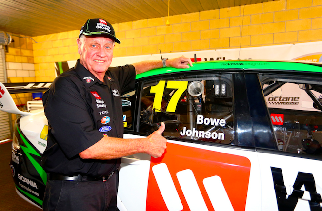 A Dick Johnson comeback was also touted