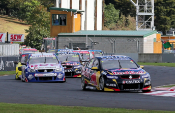 Whincup led the opening laps on Friday before the failure