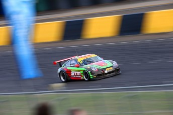 Tim Miles in his Porsche GT3 Cup Challenge car