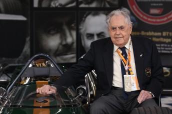 Jack Brabham at the 2014 Australian Grand Prix in March