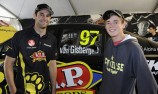 Scholarship winner meets V8 Supercar hero