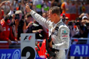 Michael Schumacher during his final season in F1