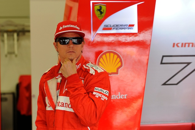 Kimi Raikkonen set to rest after heavy shunt