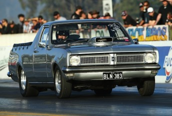 Jason Cocking took victory in Prime Signs/Speed Elec Super Street. Pic: dragphotos.com.au