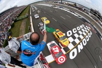 NASCAR inks IMG deal