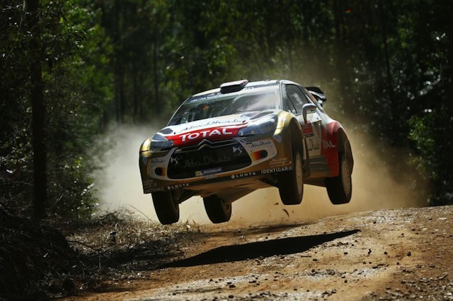 Kris Meeke set the pace after three stages