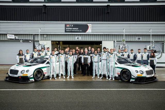 Bentley's two-car effort in the Blancpain Endurance Series