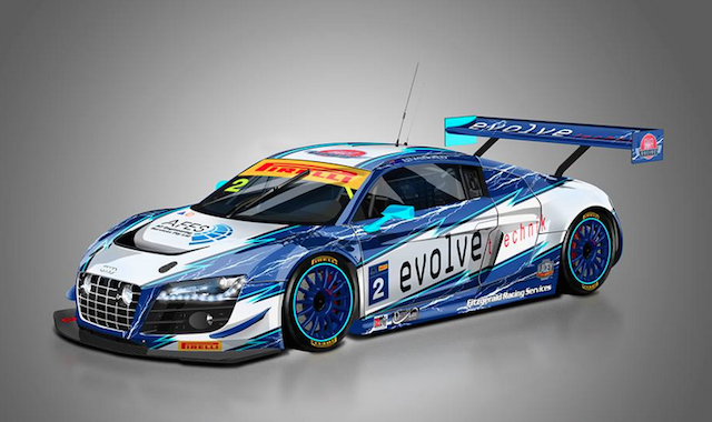 The livery that Fitzgerald's Audi will campaign in NZ