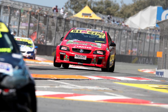 Rhys McNally topped the  times in the Australian V8 Utes