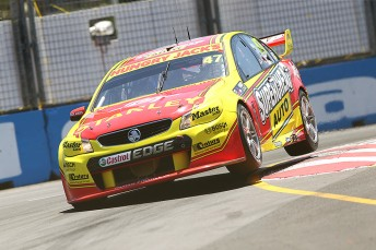 Tony D'Alberto, co-driving the #47 with Tim Slade, has not lost hope of full-time return