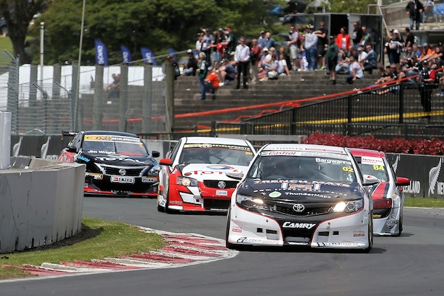 Jason Bargwanna proved invincible in the NZ Touring Cars