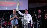 Drivers clean-up at V8 Ute Gala Awards Night