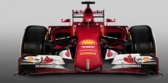 Close up of the SF15-T's protruding nose