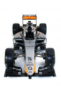 The Force India VJM08 will make its debut in Barcelona