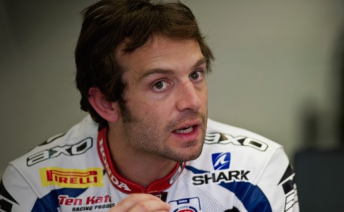 Sylvain Guintoli has begun his rehabilitation from injuries sustained in testing crash