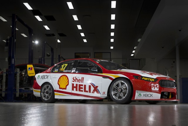 Marcos Ambrose's Shell liveried Ford Falcon FGX