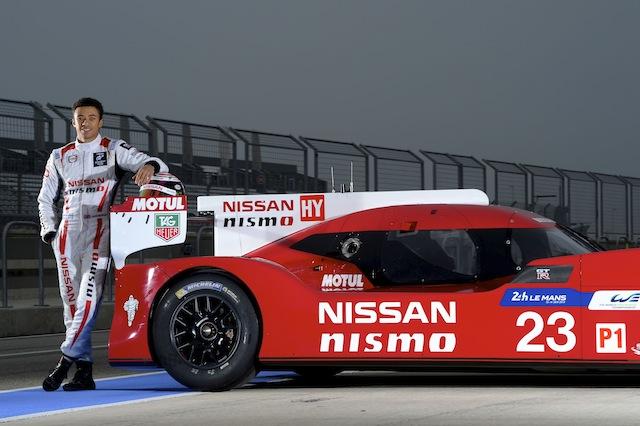 Jann Mardenborough has been pitched into Nissan's LMP1 WEC program
