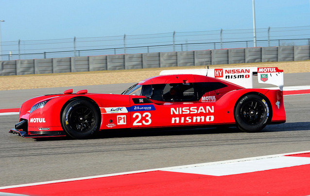 Nissan's outright Le Mans machine - the NISMO GT-R LM