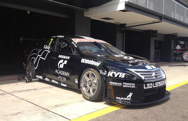 Todd Kelly is running with Nissan's GT Academy branding as a one-off
