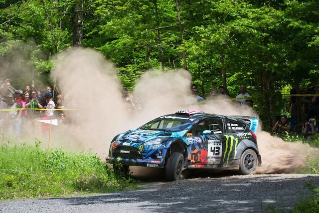 Ken Block will return to the Otago Rally in May after last appearing at the event in 2007