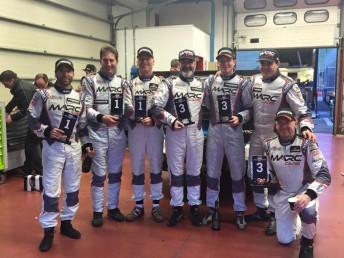 MARC Cars Australia celebrate Mugello 12 Hour SP2 class win