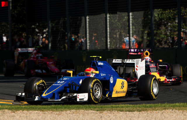Felipe Nasr impressed on his F1 debut with a commendable fifth place