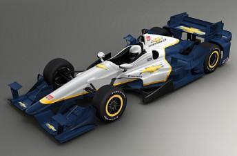 Chevrolet's new aero kit is somewhat tamer than Honda's