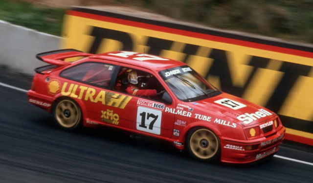 Johnson and Bowe twice shared the now Stillwell owned Sierra in the Bathurst 1000