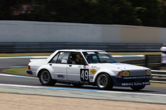 Ian Ross at Sandown in the current day Heritage Touring Car category