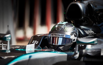 Nico Rosberg maintained his form at Barcelona
