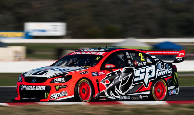 Garth Tander's HRT Commodore