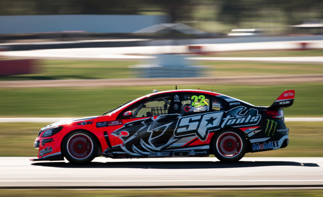 James Courtney set the quickest time in final practice