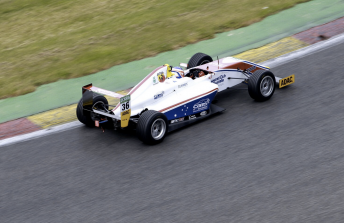 Joey Mawson has continued his strong form in the German F4 Championship
