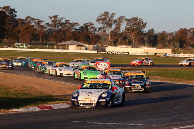 Ryan Simpson dominated in GT3 Cup Challenge