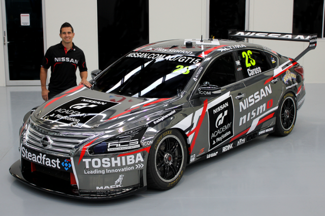Michael Caruso's new look for Townsville