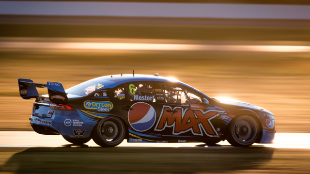Chaz Mostert drove away to a fine victory