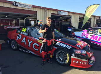 Macauley Jones will join Dale Wood for the Pirtek Enduro Cup