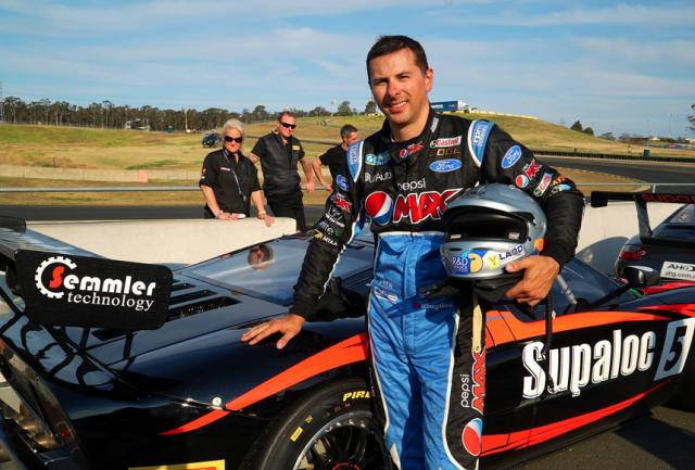 Steve Owen scored pole in Australian GT