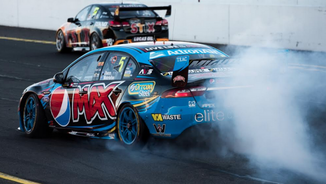 Mark Winterbottom has been fined for this burnout