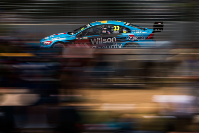 Scott McLaughlin scored a pole position for Volvo at the weekend's GC600