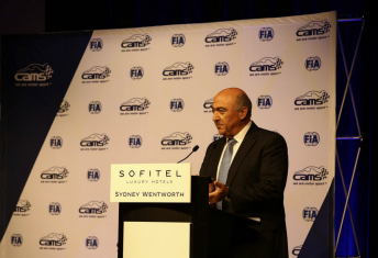 CAMS president Andrew Papadopoulos announced the establishment of the Hall of Fame during the peak body's national awards dinner earlier this year