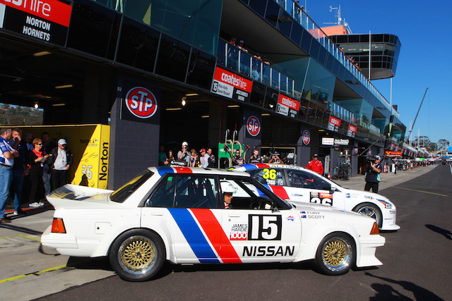 Gibson helped Nissan with a special visit to Bathurst last year co-inciding with 30 years since George Fury's pole position in the Bluebird