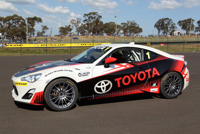 Six-figure prize pool for Australian Toyota 86 Series. pic: Paul Cross